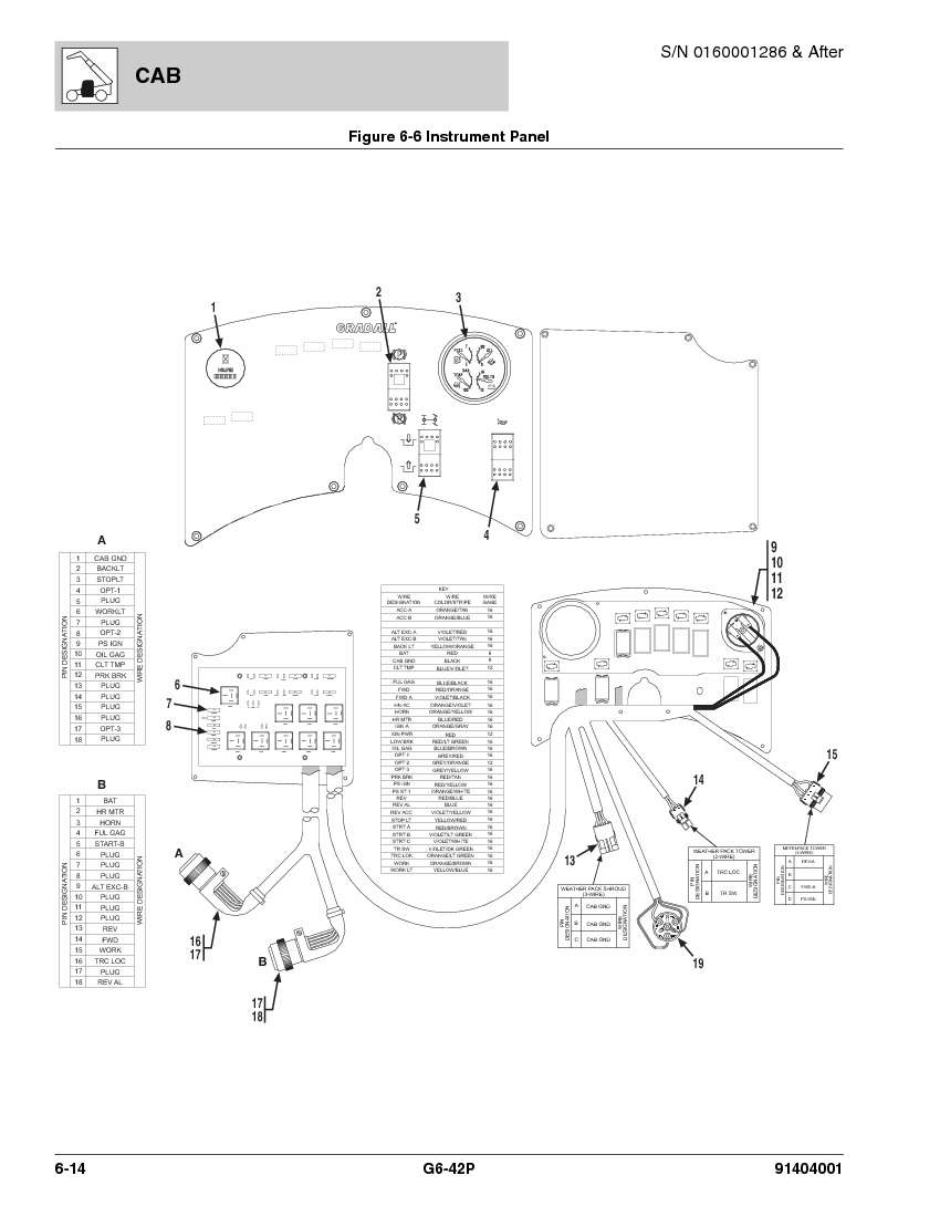 jlg g6 42a wiring diagram