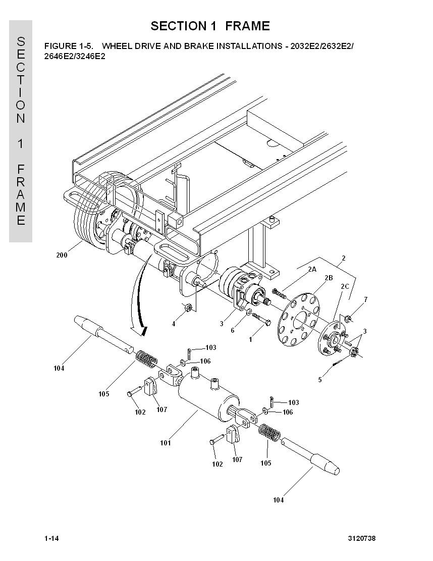 jlg 1930es scissor lift wiring diagram construction equipment parts jlg parts from www gciron com