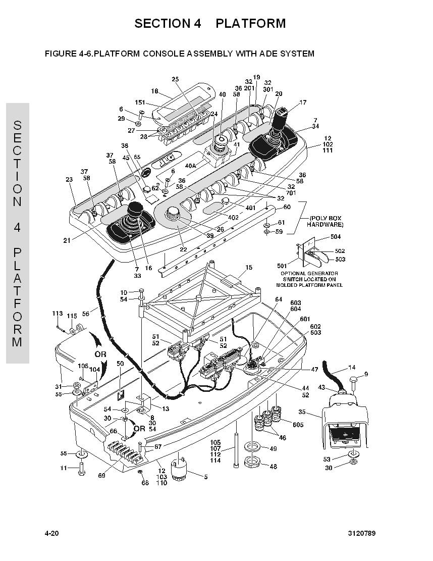 construction equipment parts jlg parts from www gciron com Footswitch Wiring Diagram For Jlg
