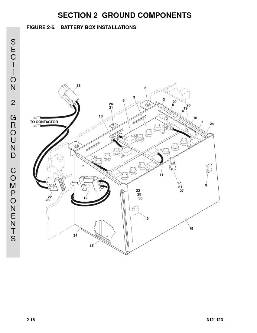 jlg 40e battery wiring diagram