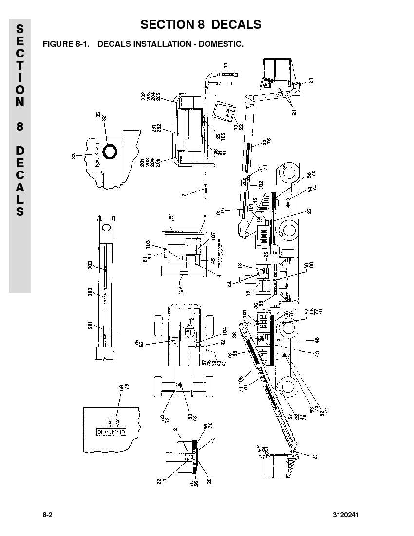 construction equipment parts jlg parts from www gciron com 7-Wire Trailer Wiring Diagram Lull Wiring-Diagram