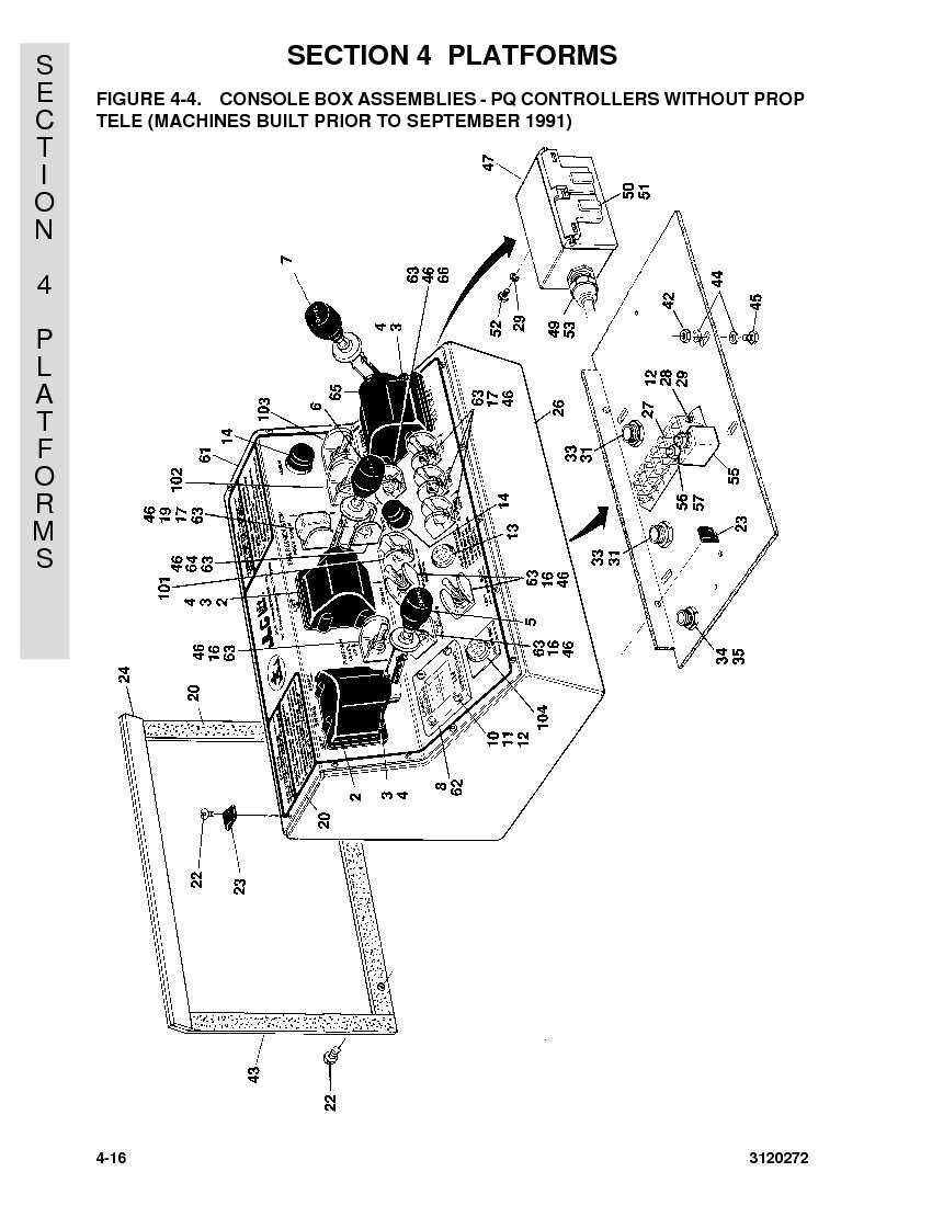 H Hx Hx Hxplus on Jlg Parts Diagram