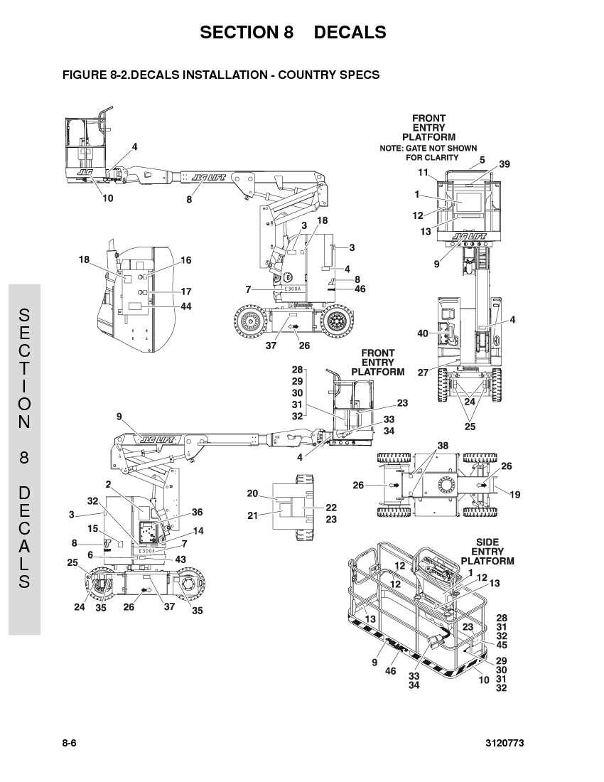 construction equipment parts jlg parts from www gciron com rh gcironparts  com JLG E300 JLG E300AJP