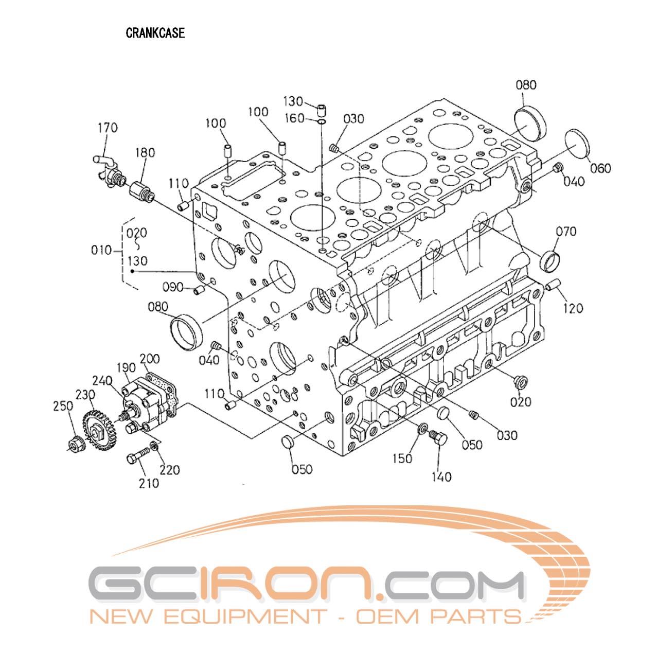 Kubota Engine Parts : Kubota d radiator free engine image for user