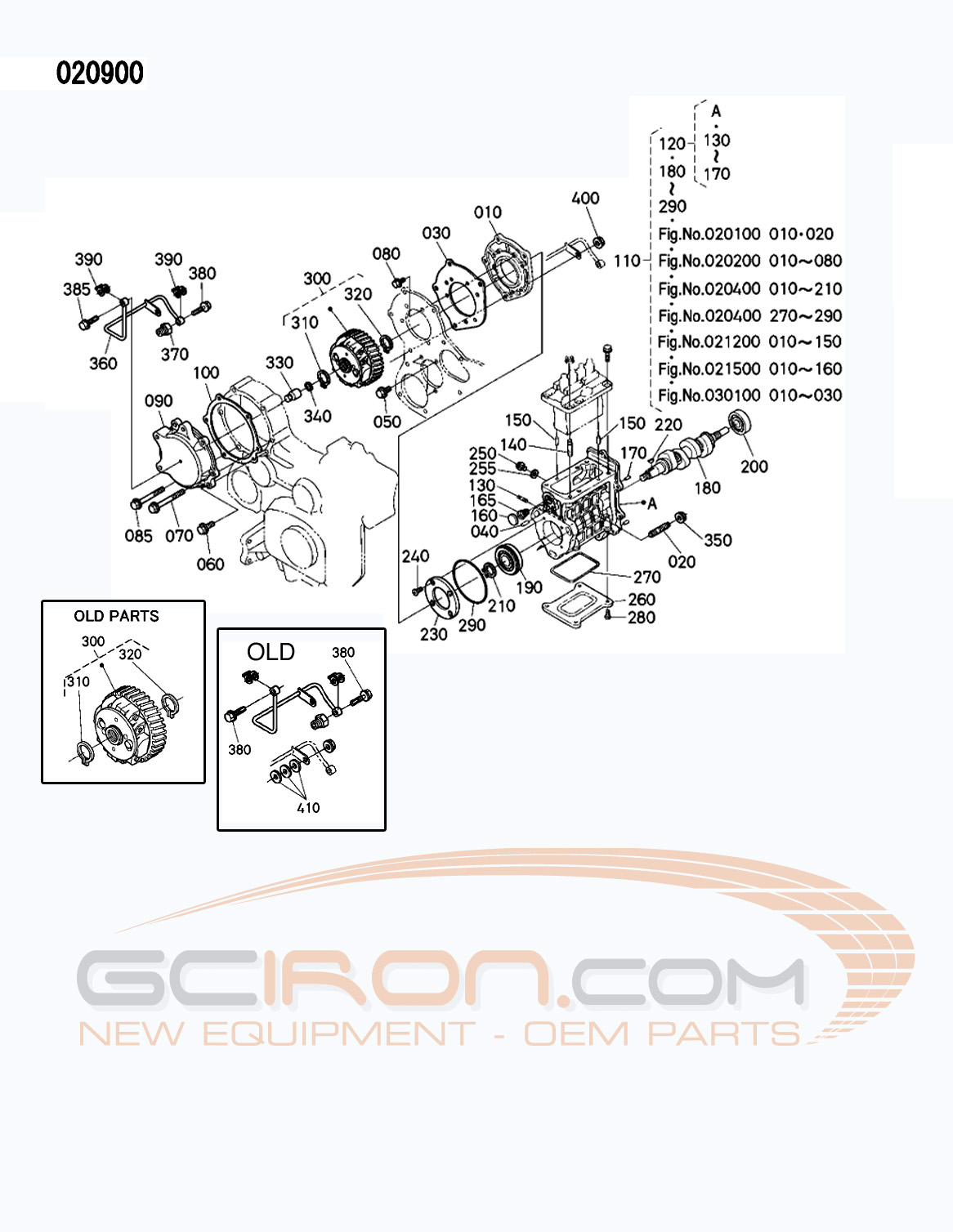 Kubota D722 Engine Parts Manual