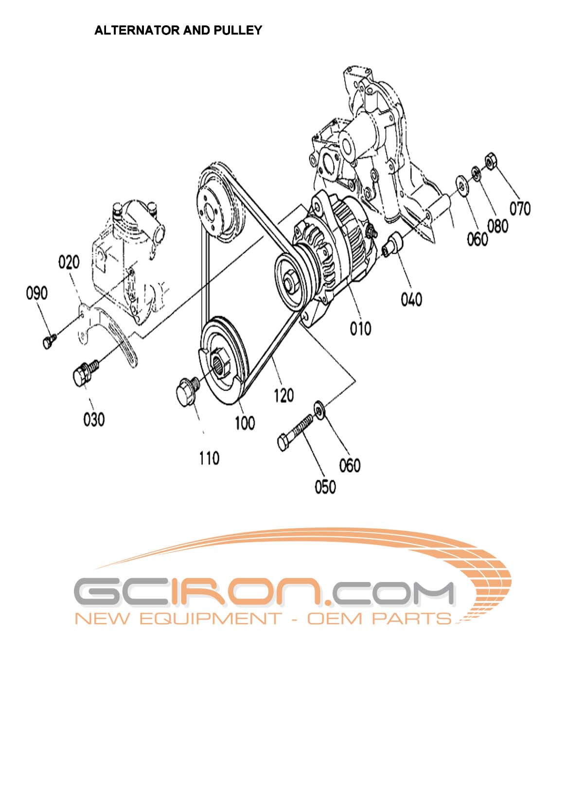Construction Equipment Parts: JLG Parts from www.GCIron.com