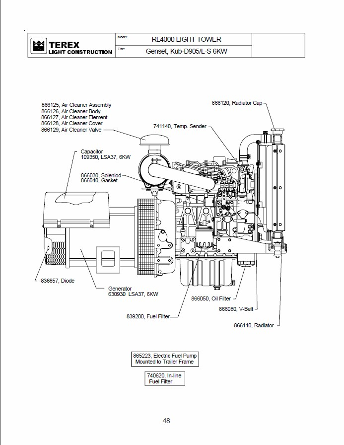 kubota timing belt diagram
