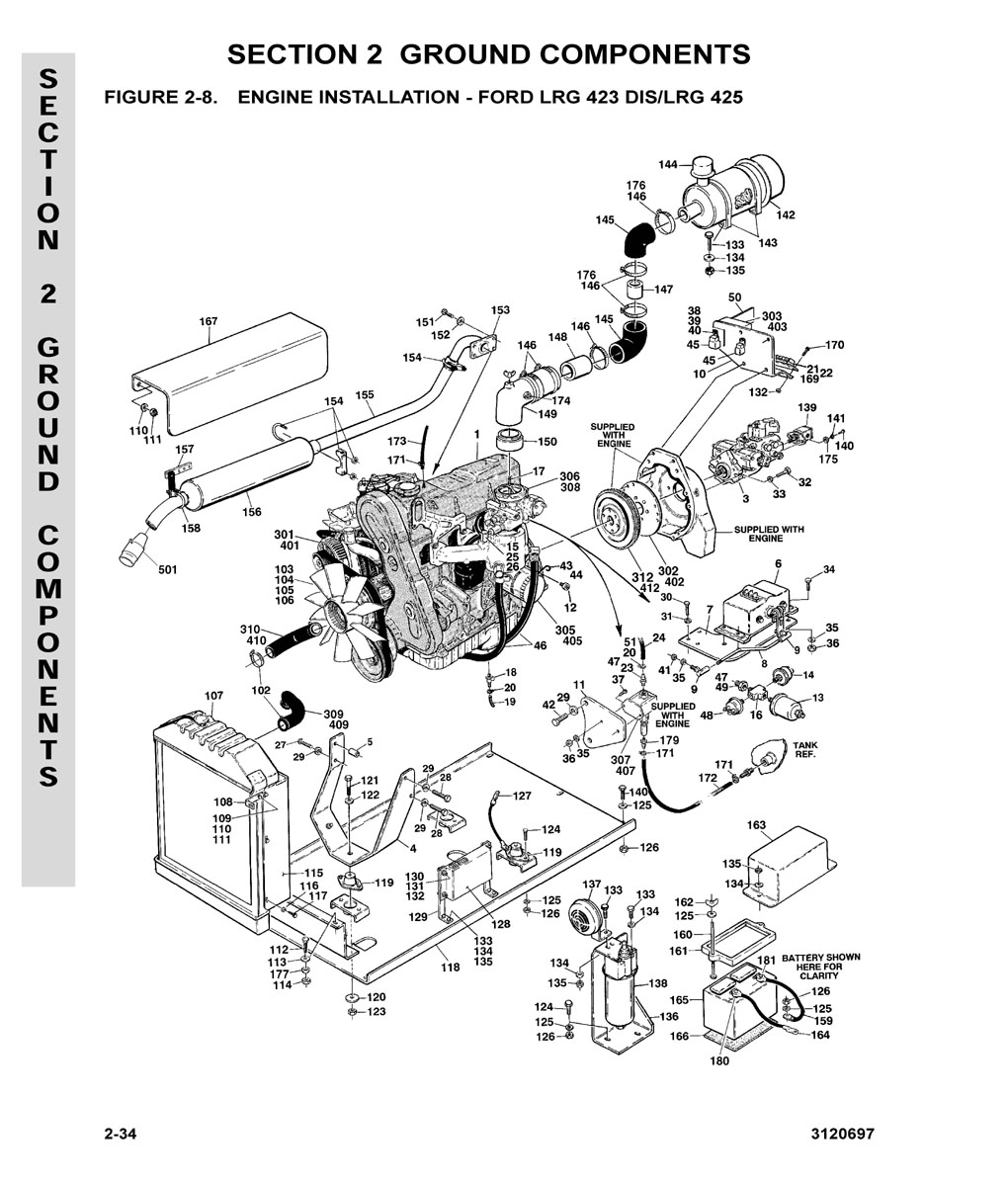 Construction Equipment Parts Jlg From Gcironcom Diagram Thermostat Engine Car And Component