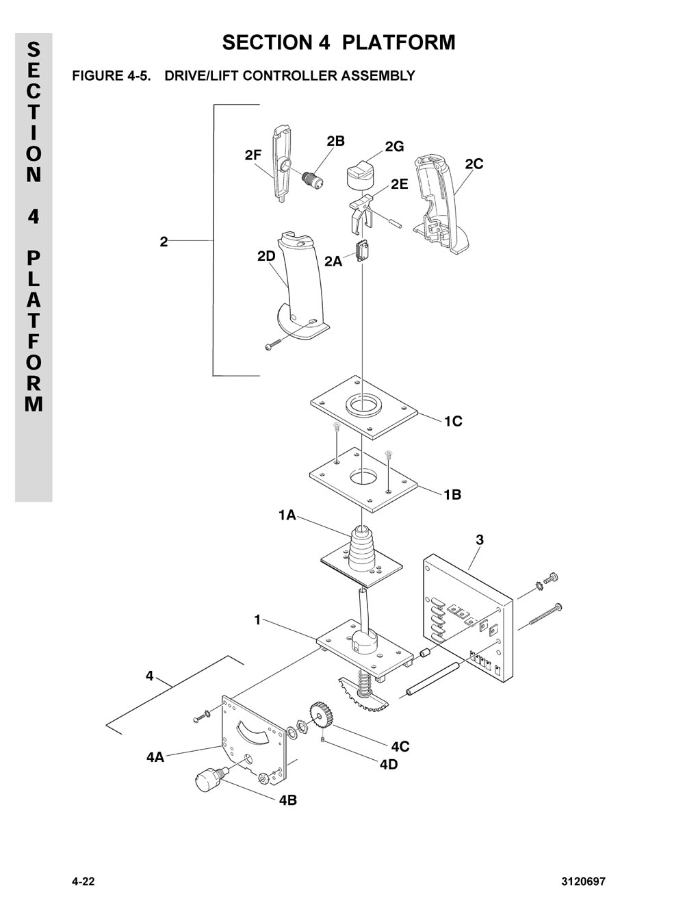 Construction Equipment Parts Jlg From Gcironcom Wheelchair Lift Wiring Diagram Schematic