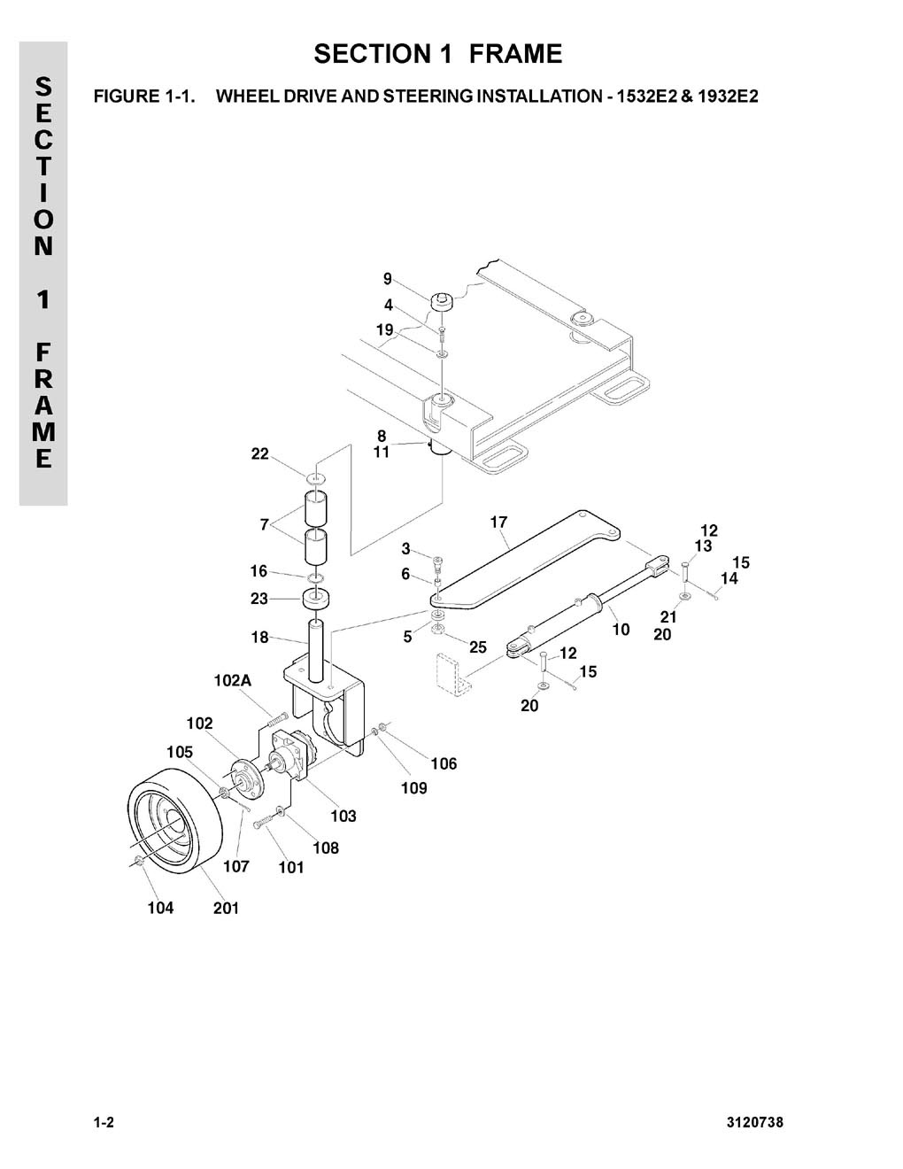 Construction Equipment Parts Jlg From Gcironcom 2632e2 Wiring Diagram Decals Installation 1532e2 Country Spec